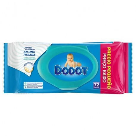 DODOT TOALL.DERMO ACTIVE 72UD.RECAMBIO